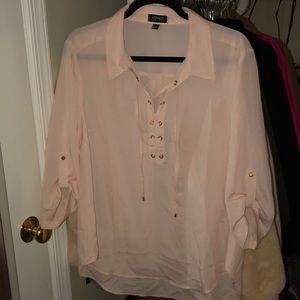 Jones New York sheer blouse